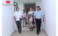 Trường mầm non Happy Smile vinh dự đón tiếp đoàn UNESCO