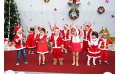 Giáng sinh an lành - ấm áp tại trường mầm non Happy Smile